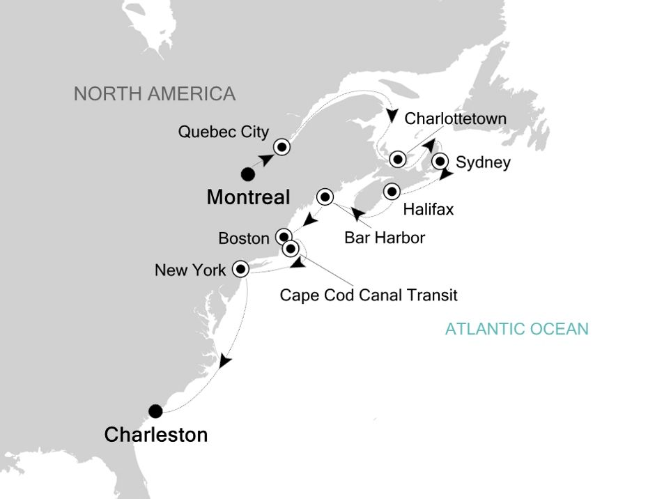 2930 - Montreal to Charleston