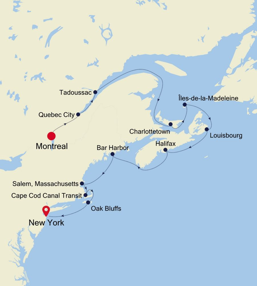 2926 - Montreal to New York