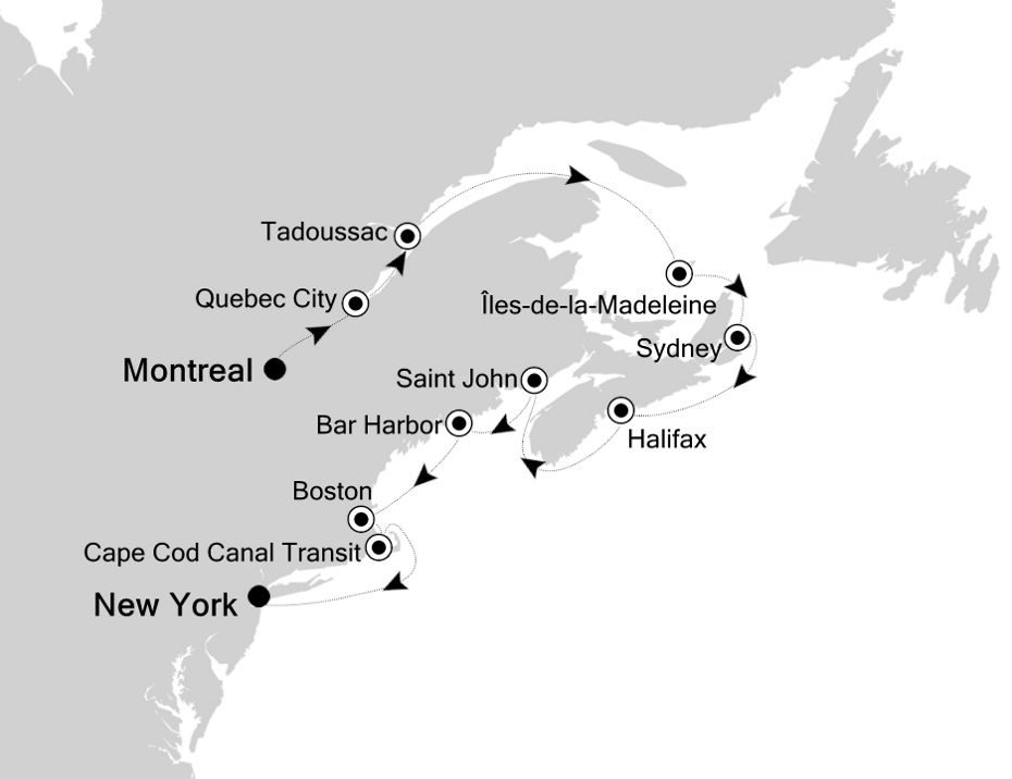 2928 - Montreal nach New York