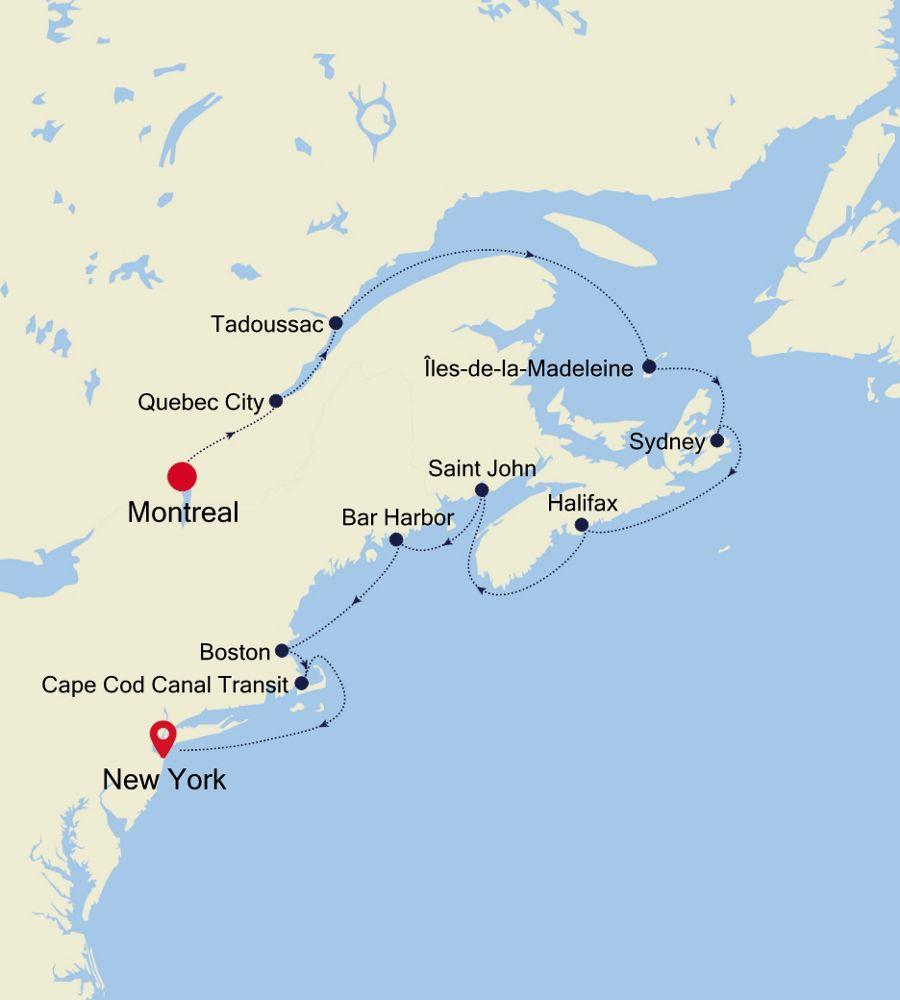 2928 - Montreal à New York
