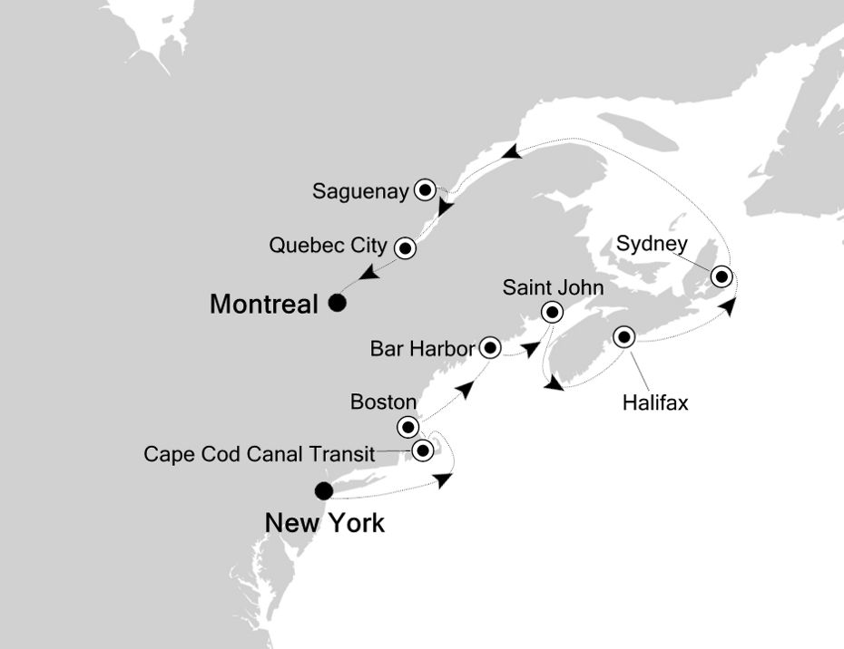 2929 - New York to Montreal