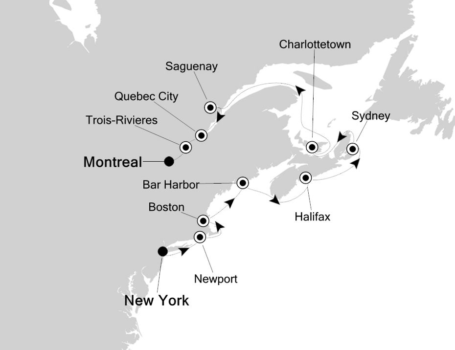 5826 - New York to Montreal