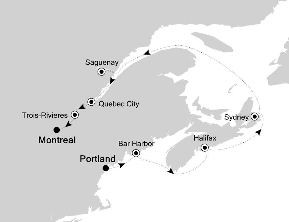 5828B - Portland to Montreal