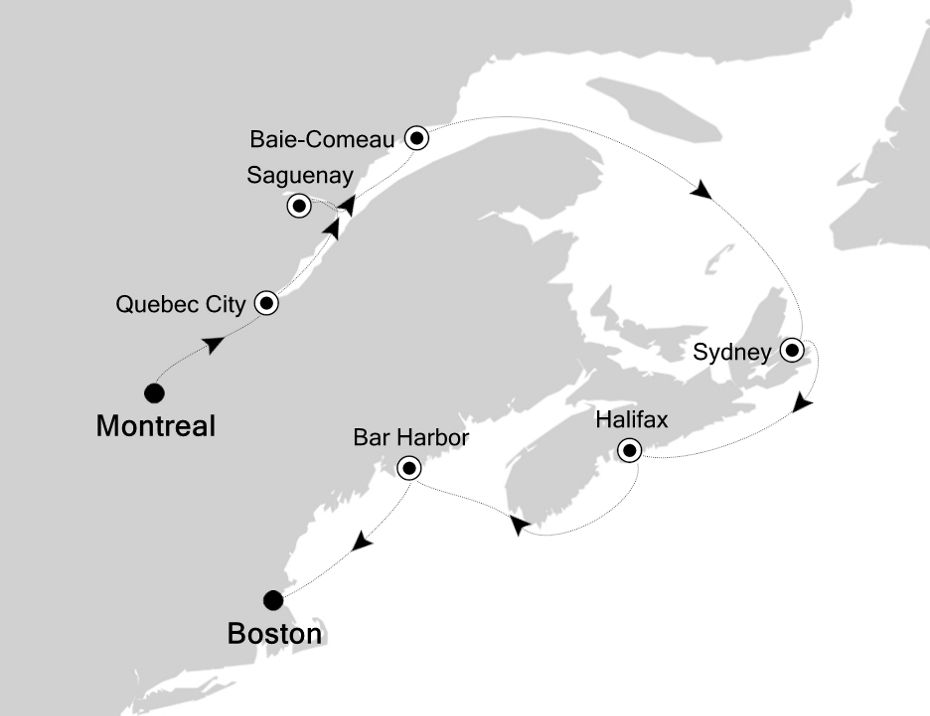 5829A - Montreal to Boston