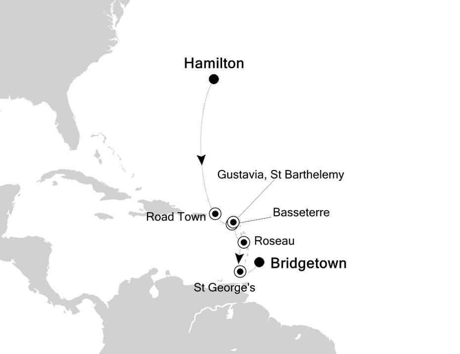 5830B - Hamilton a Bridgetown