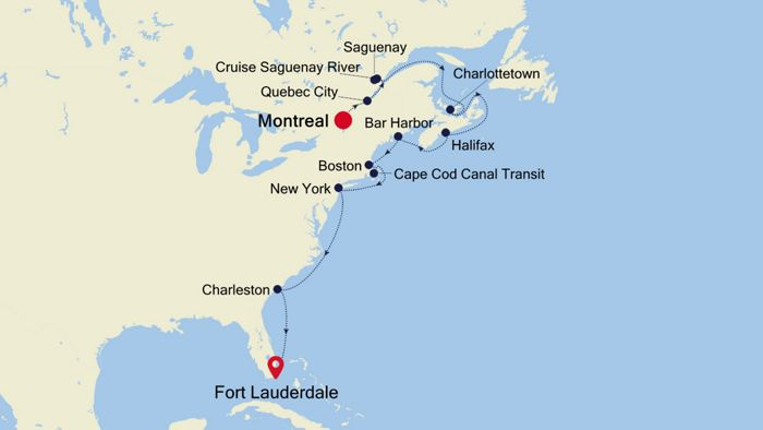 Luxury Cruise from MONTREAL to FORT LAUDERDALE (Florida) 27