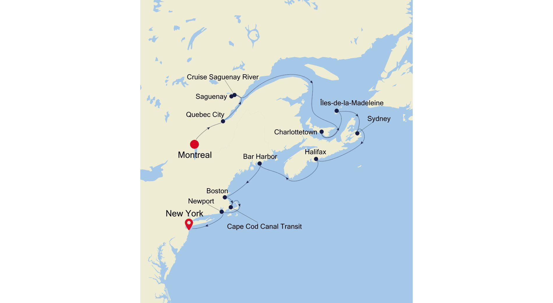 WH211017011 - Montreal to New York