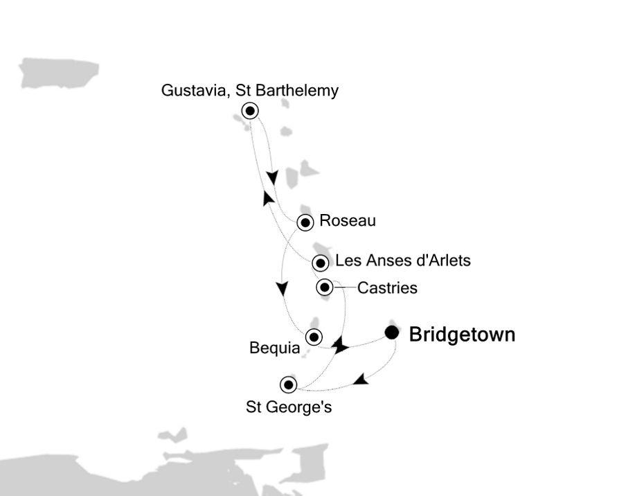 2837 - Bridgetown to Bridgetown