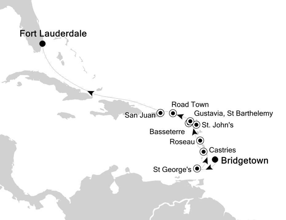 4831 - Bridgetown to Fort Lauderdale