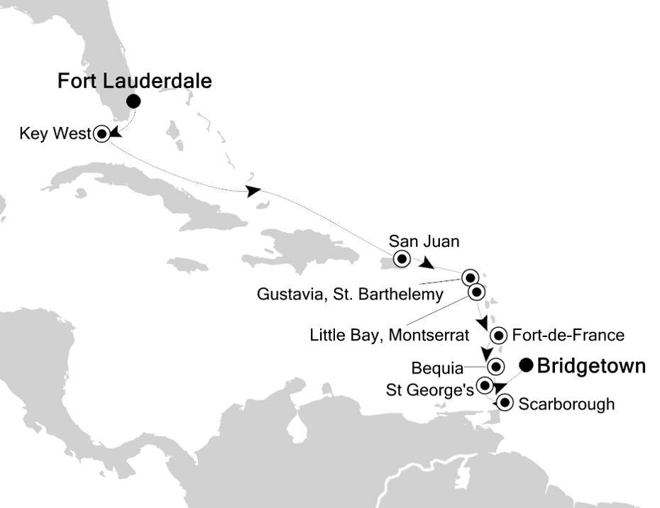 2010 - Fort Lauderdale nach Fort Lauderdale