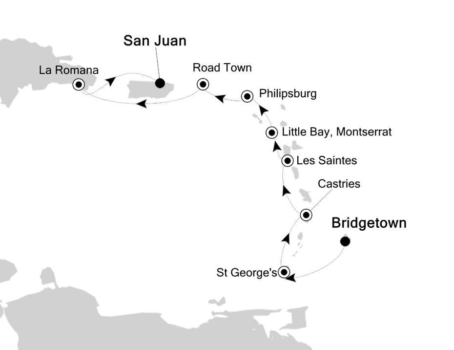 2004 - Bridgetown nach San Juan
