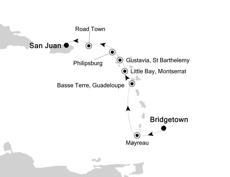 2902 - Bridgetown à San Juan