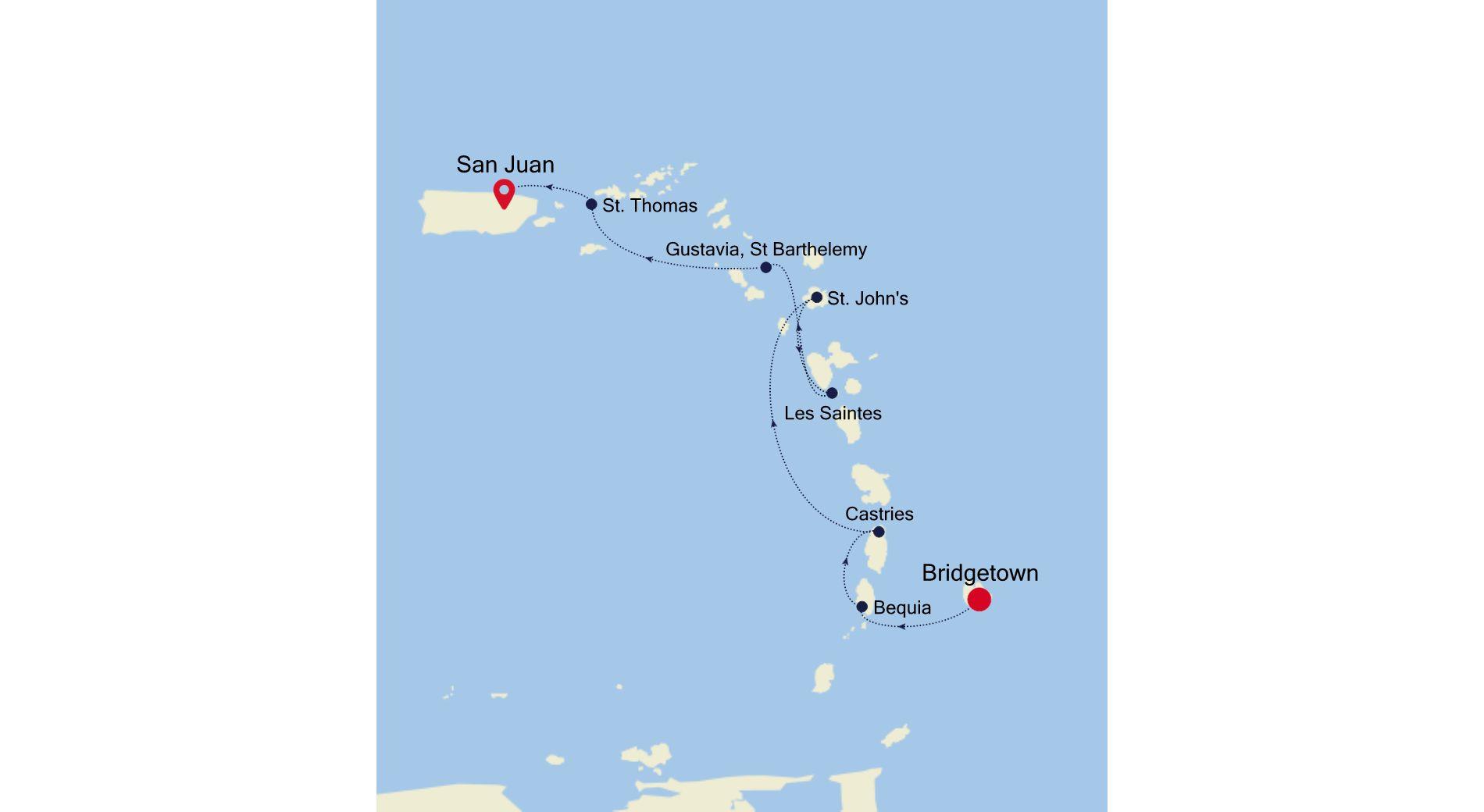 2909 - Bridgetown a San Juan