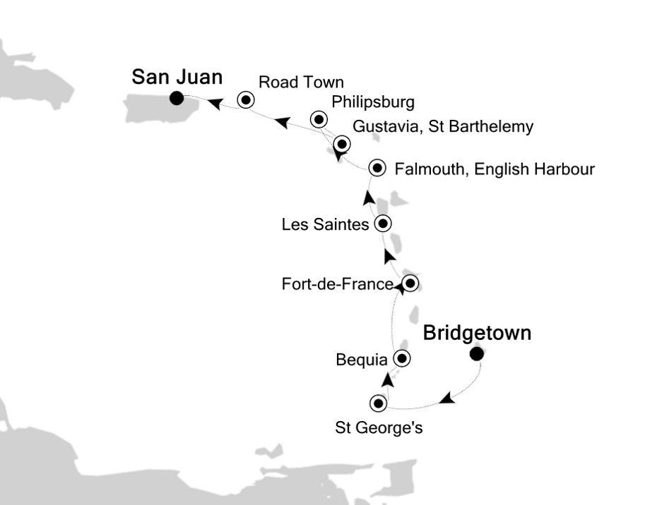 2932 - Bridgetown a San Juan