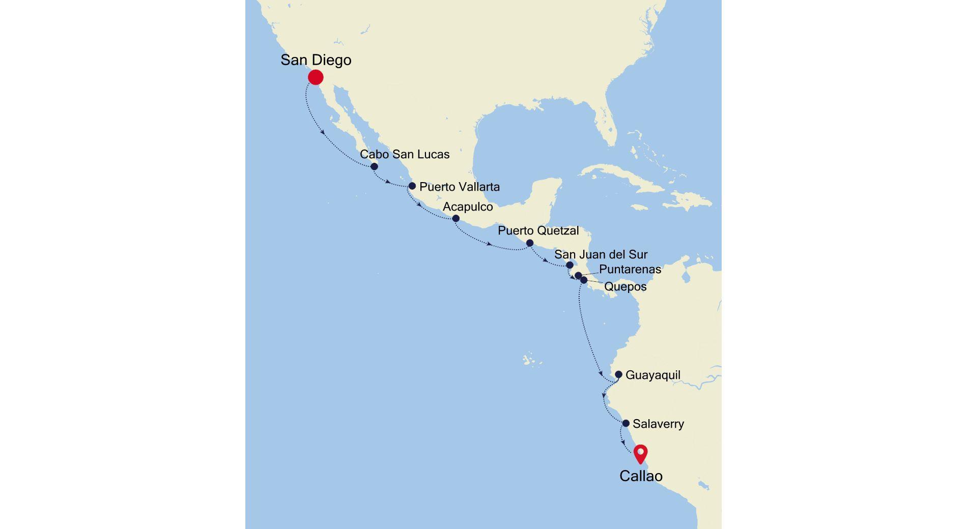 E4211010018 - San Diego to Callao