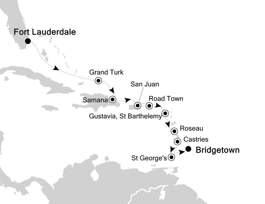 4829 - Fort Lauderdale à Bridgetown