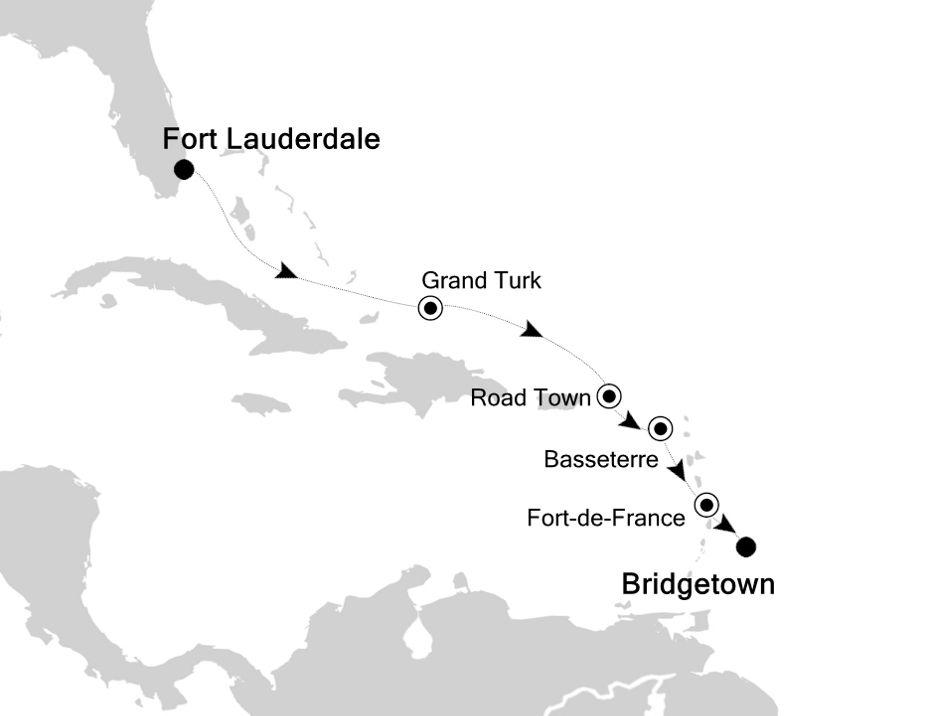6806A - Fort Lauderdale nach Bridgetown