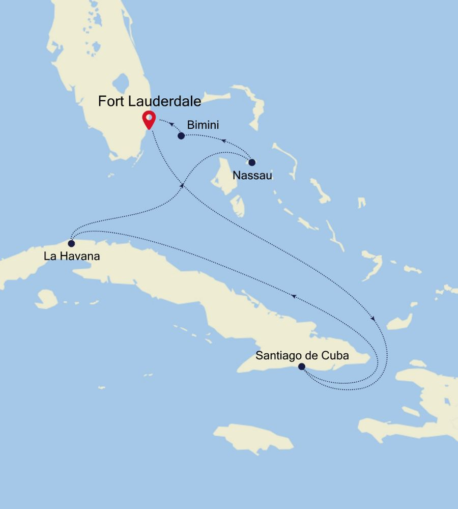 2913 - Fort Lauderdale to Fort Lauderdale