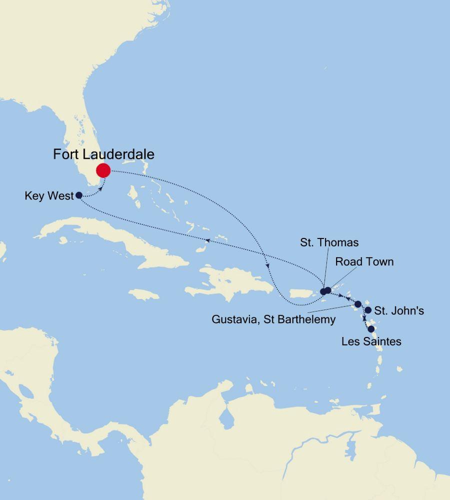 2914 - Fort Lauderdale nach Fort Lauderdale