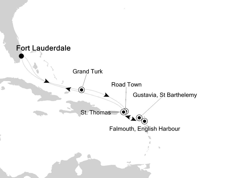 2935 - Fort Lauderdale to Fort Lauderdale