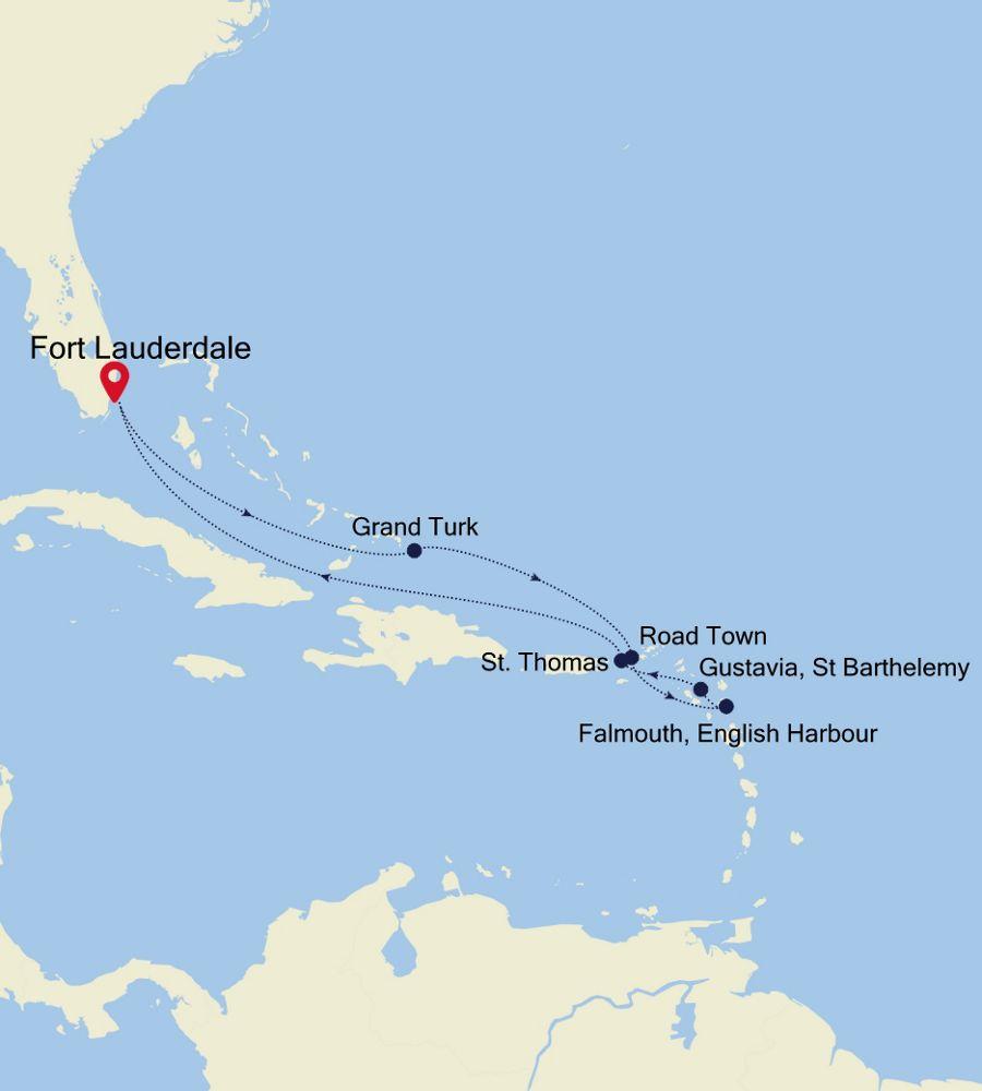 2935 - Fort Lauderdale nach Fort Lauderdale