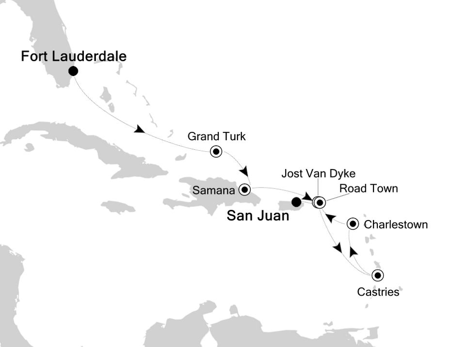2936 - Fort Lauderdale to San Juan