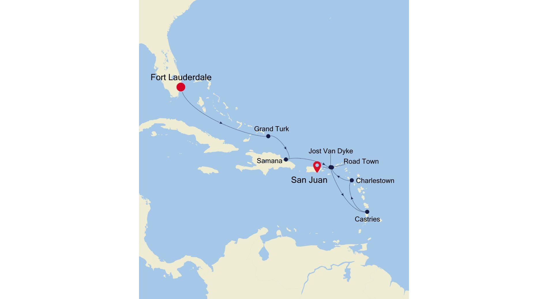 2936 - Fort Lauderdale a San Juan