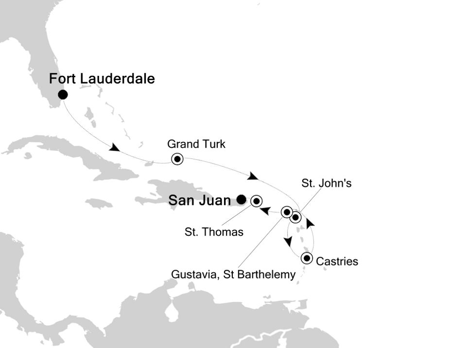 3936 - Fort Lauderdale to San Juan