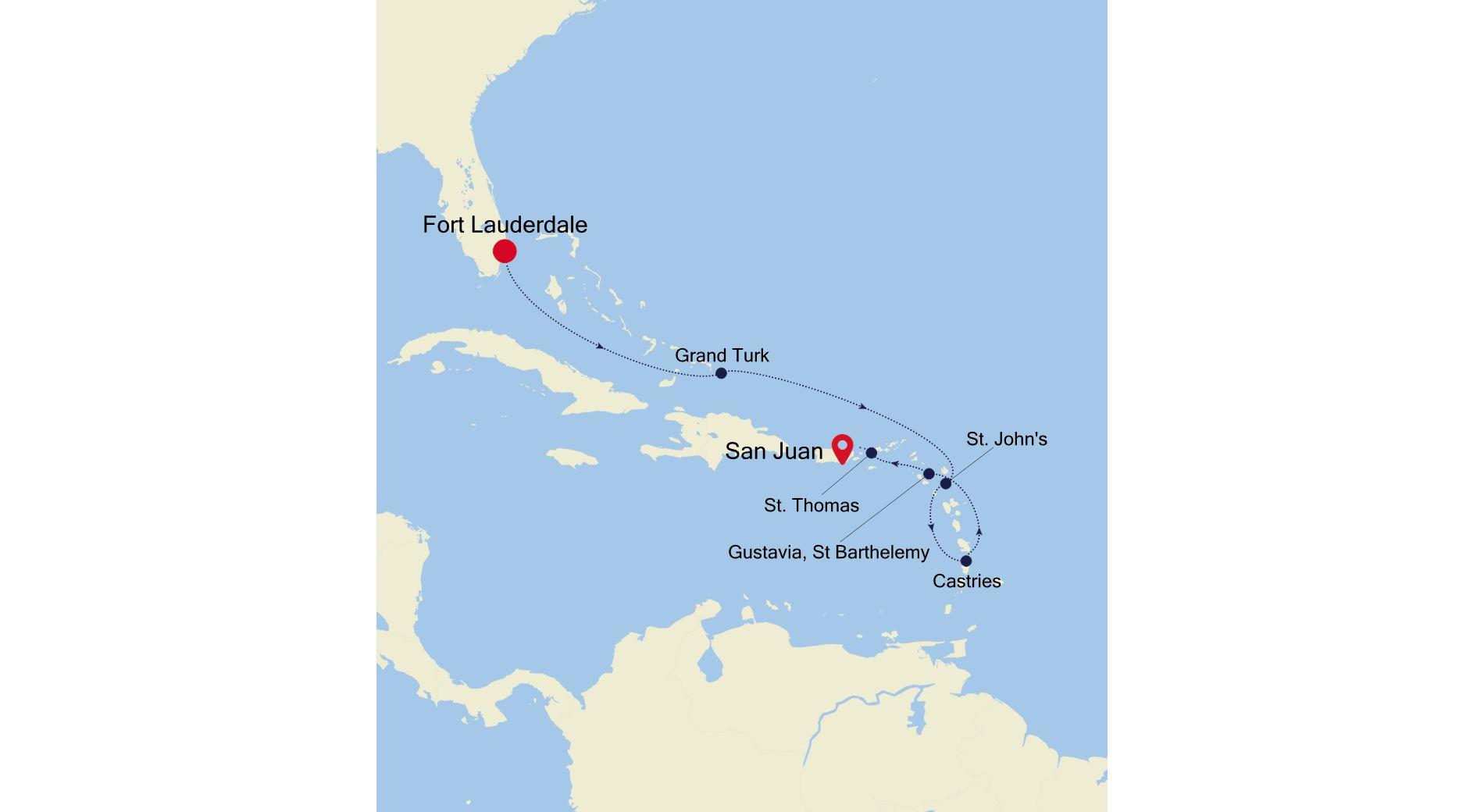 3936 - Fort Lauderdale a San Juan