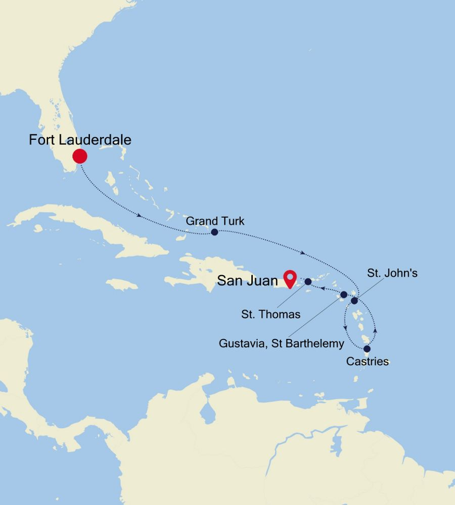 3936 - Fort Lauderdale nach San Juan