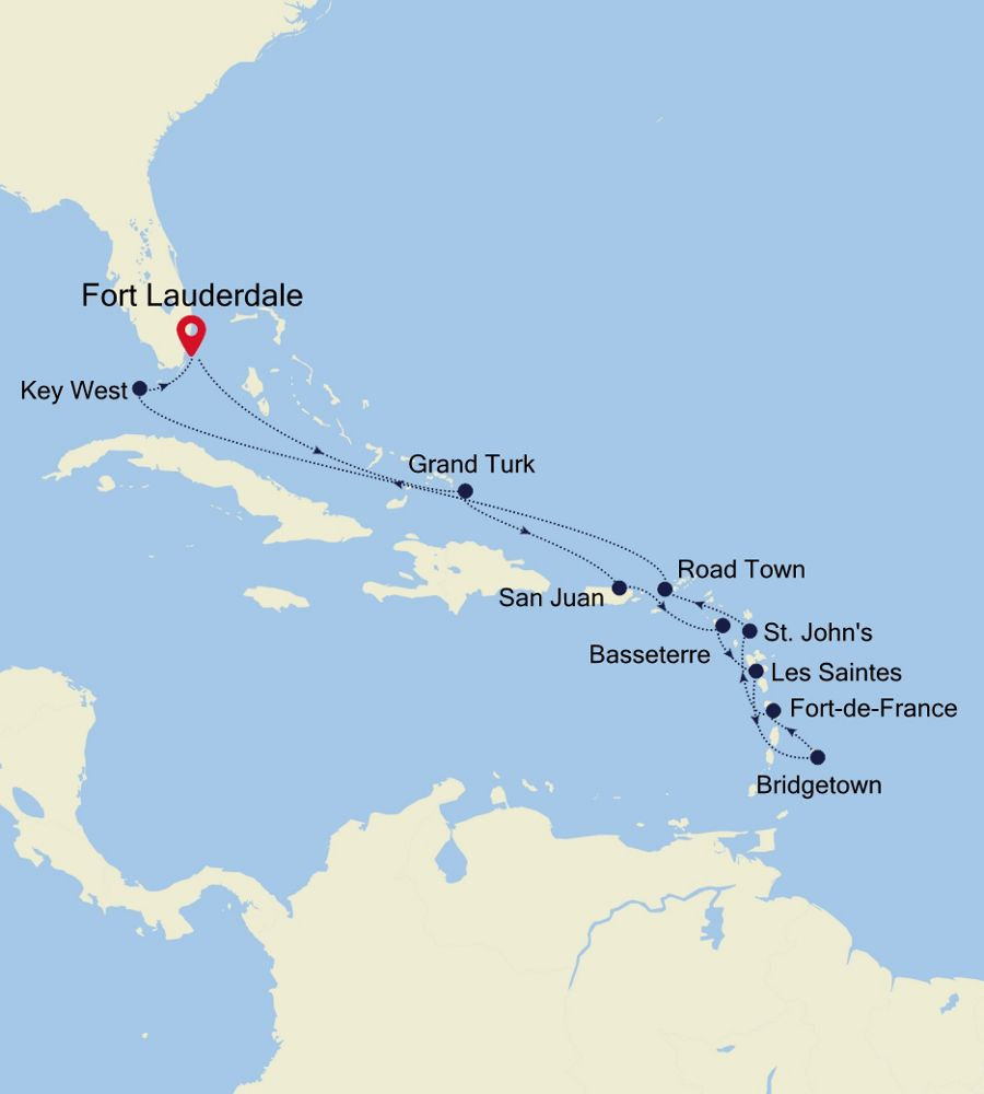 4930 - Fort Lauderdale à Fort Lauderdale