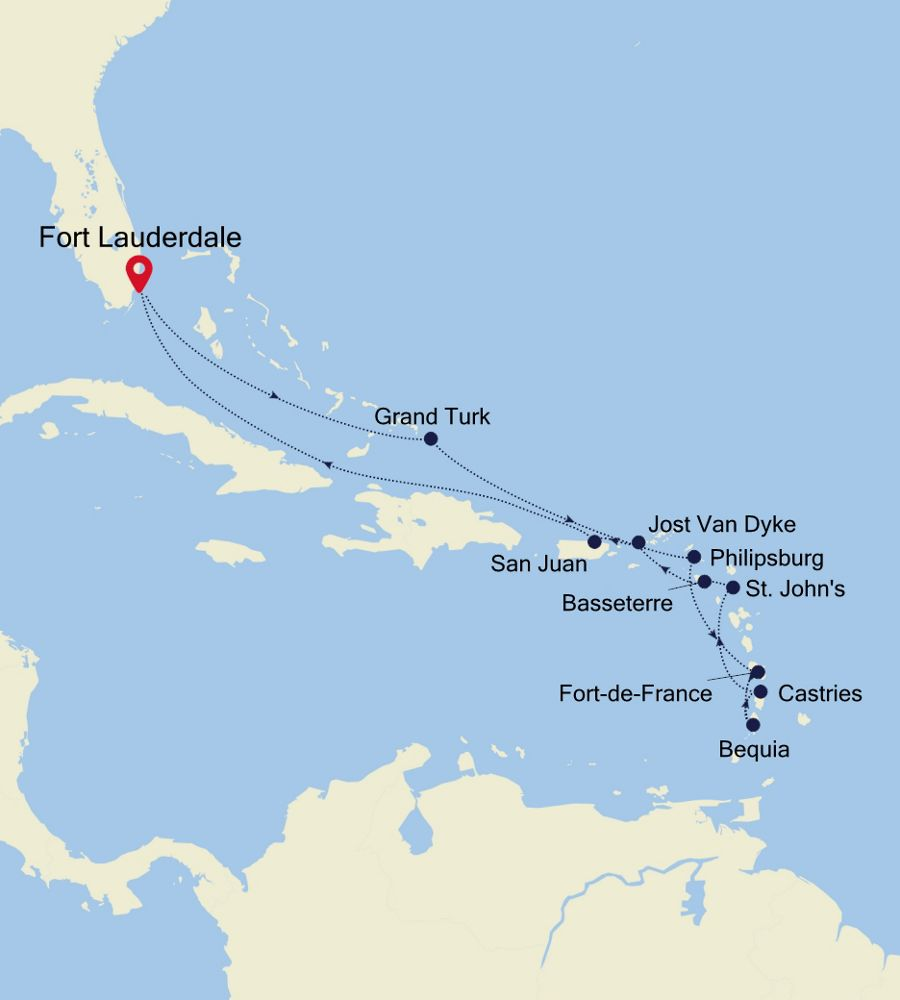4931 - Fort Lauderdale to Fort Lauderdale