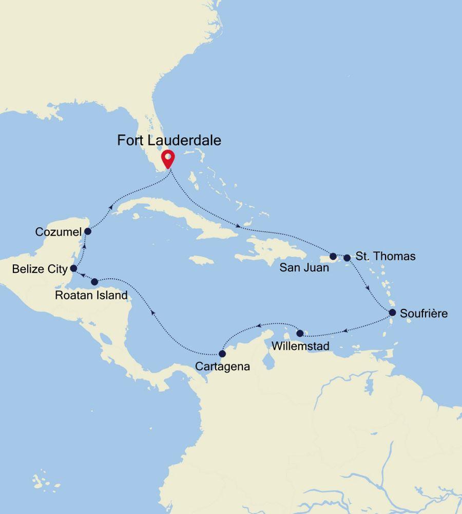 4932 - Fort Lauderdale a Fort Lauderdale