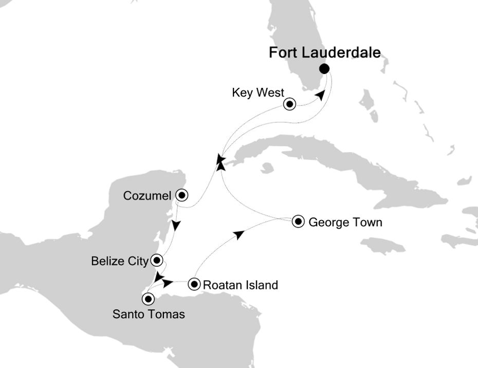5833 - Fort Lauderdale to Fort Lauderdale