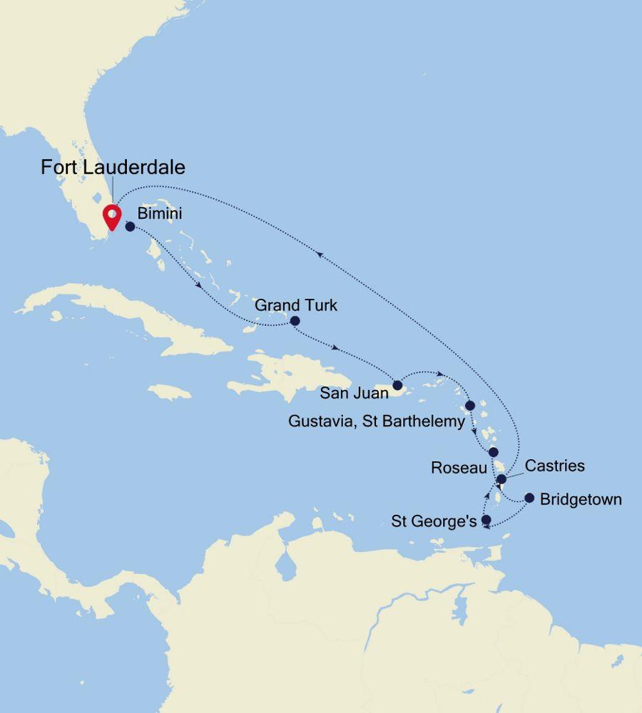 5834 - Fort Lauderdale a Fort Lauderdale