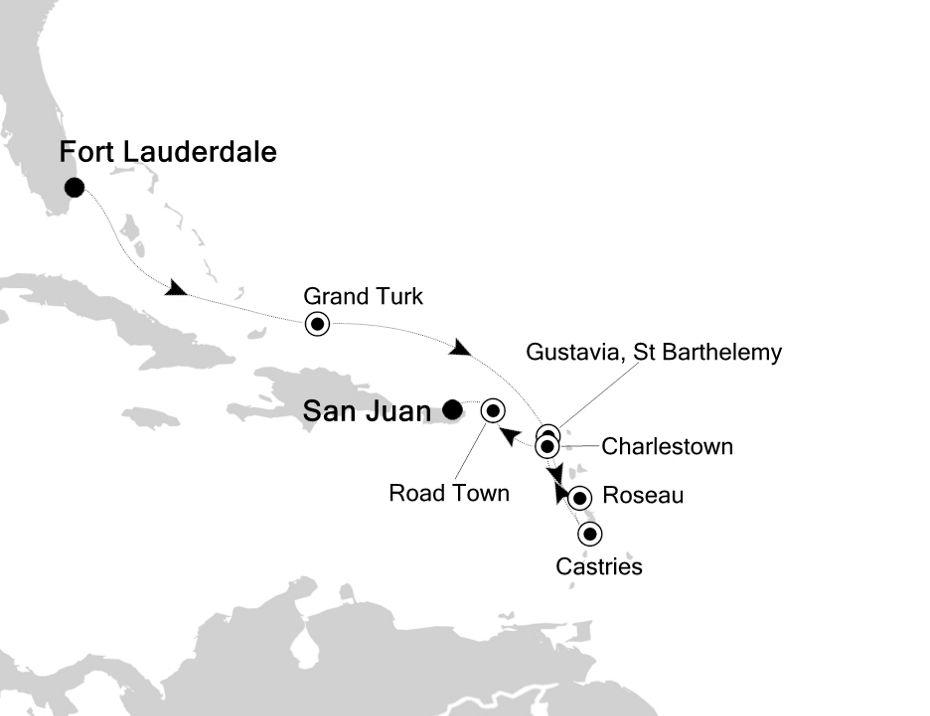 2001 - Fort Lauderdale a San Juan
