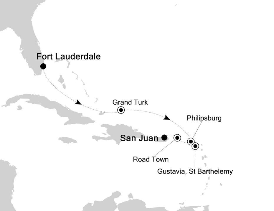 3934 - Fort Lauderdale a San Juan