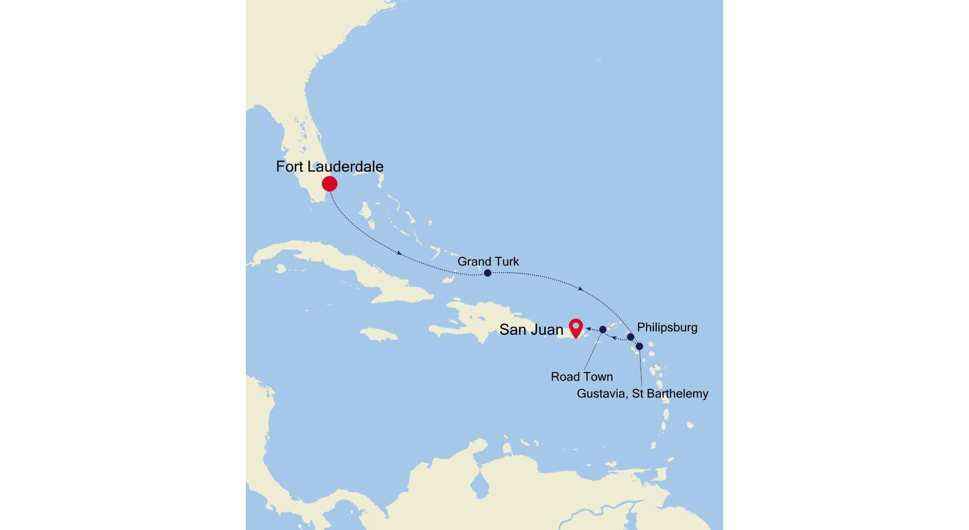 3934 - Fort Lauderdale to San Juan