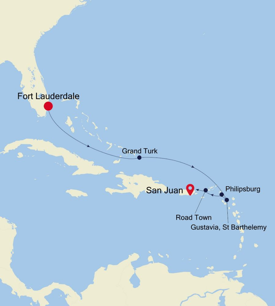 3934 - Fort Lauderdale à San Juan