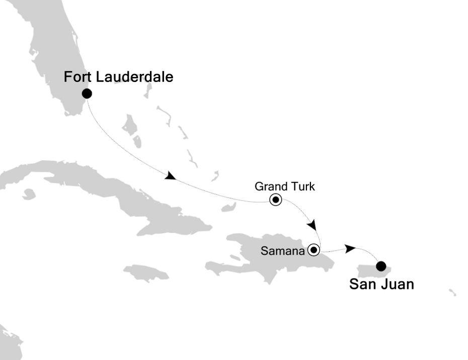 4829A - Fort Lauderdale à San Juan