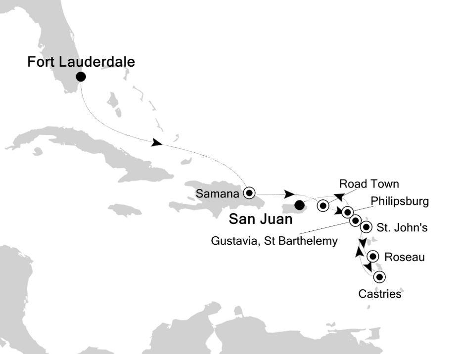 5903 - Fort Lauderdale to San Juan