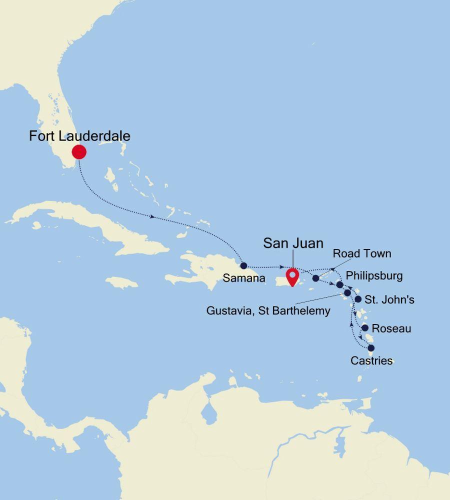 5903 - Fort Lauderdale a San Juan