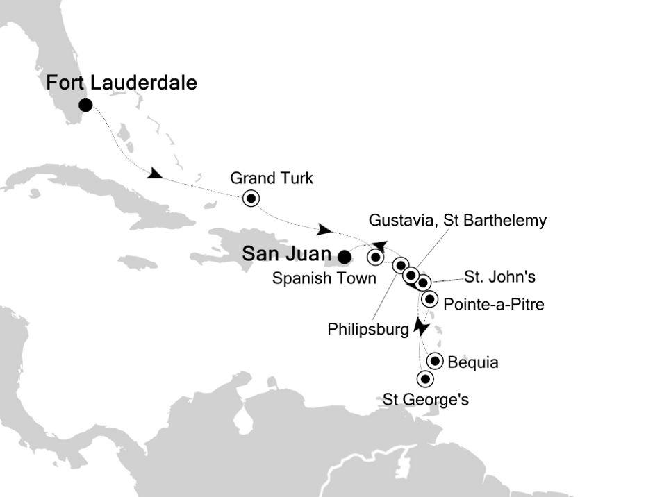 5907 - Fort Lauderdale a San Juan