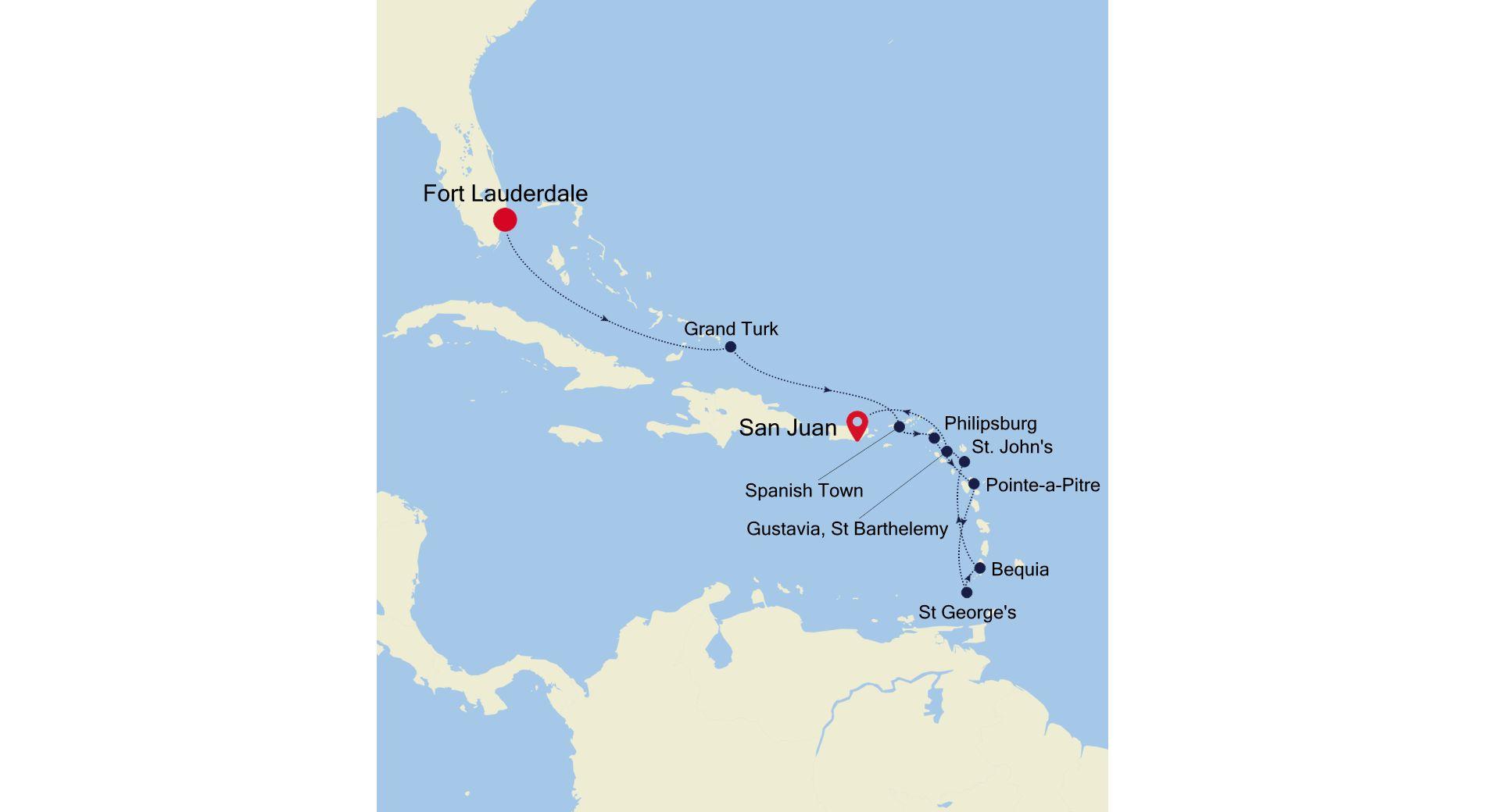 5907 - Fort Lauderdale à San Juan