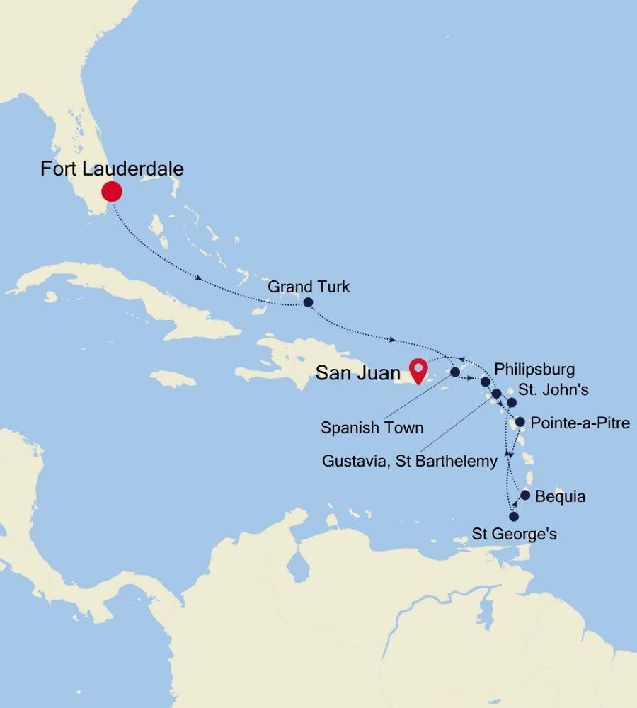 5907 - Fort Lauderdale to San Juan
