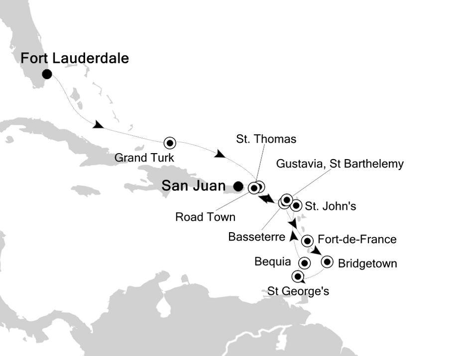 6806 - Fort Lauderdale to San Juan