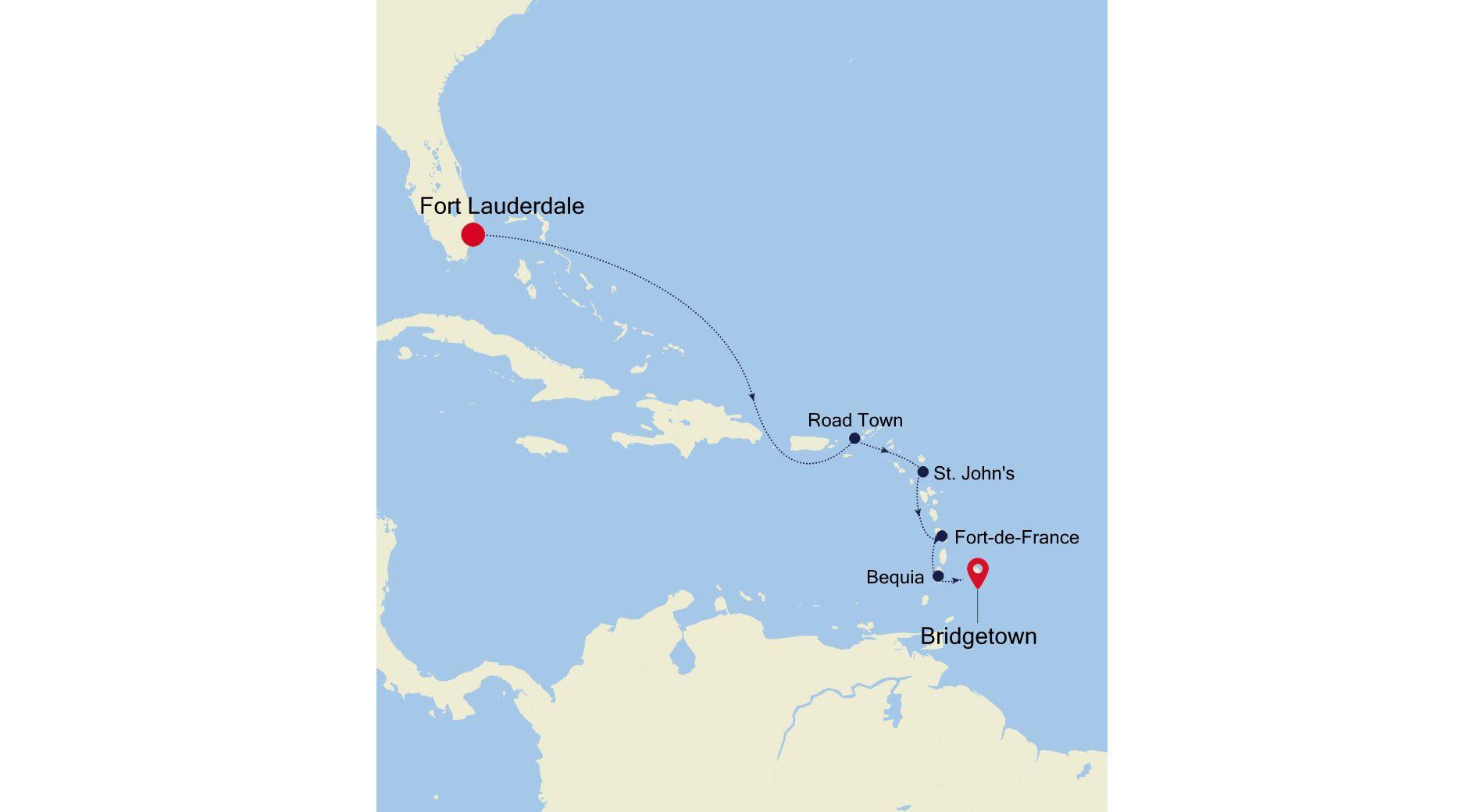 MO201223S07 - Fort Lauderdale a Bridgetown