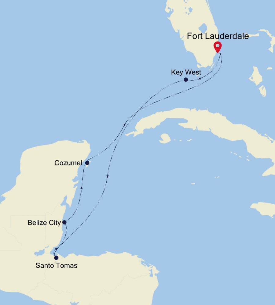 2002 - Fort Lauderdale to Fort Lauderdale