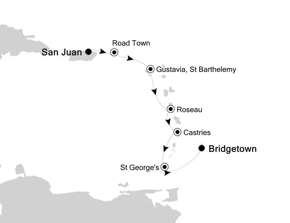 4829B - San Juan to Bridgetown