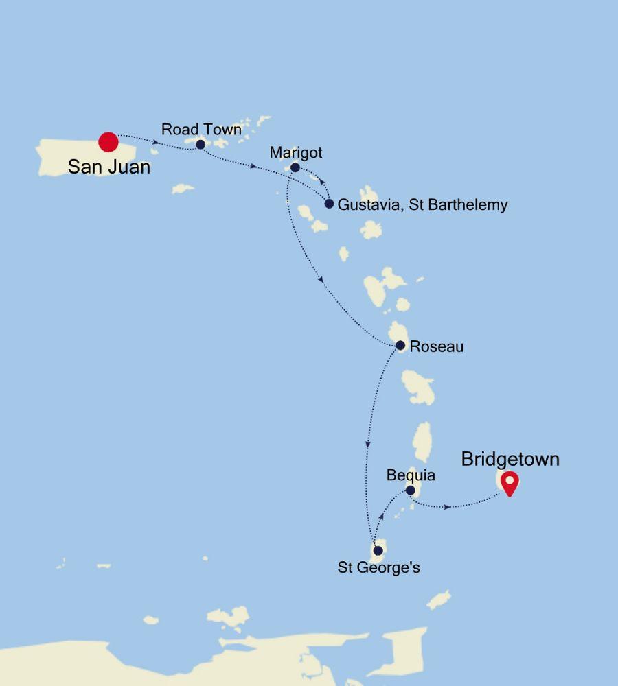 5908 - San Juan to Bridgetown